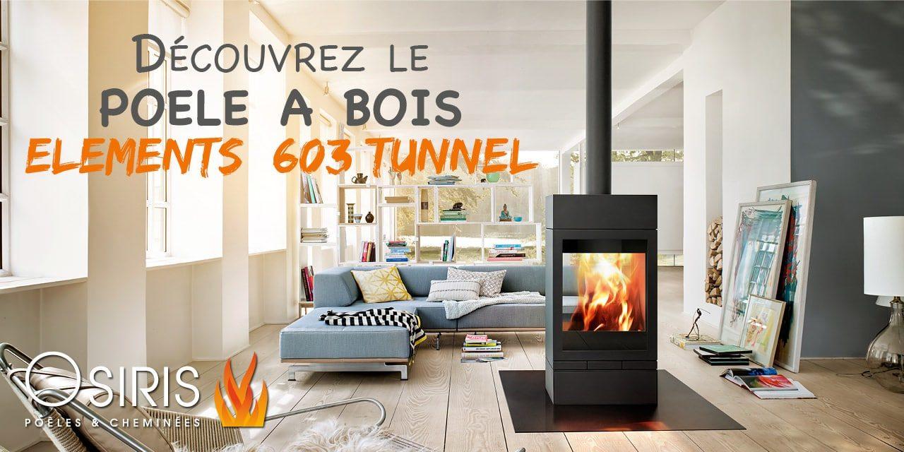 decouvrez le poele a bois skntherm elements 603 tunnel. Black Bedroom Furniture Sets. Home Design Ideas