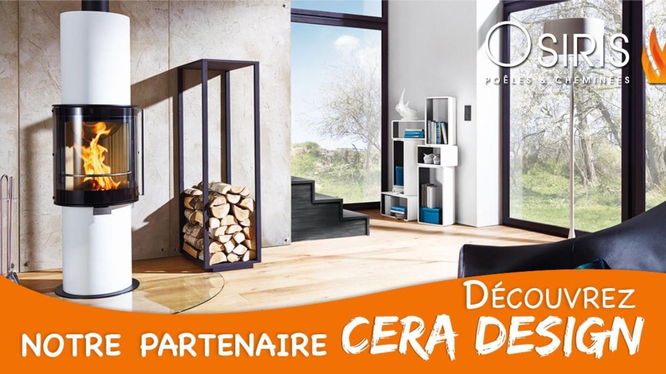 Decouvrez la marque Cera Design poele a bois & insert a gaz